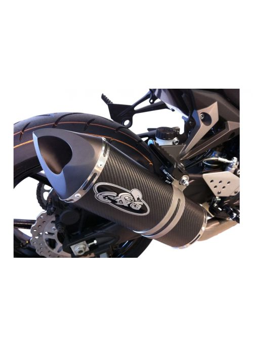 G&G Big Oval exhaust ZX10R Ninja 2011-2015