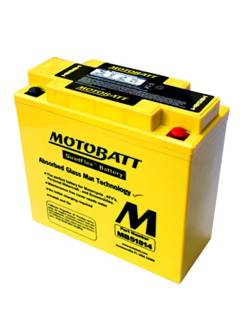 MotoBatt 51814 / 51913 Battery 22Ah
