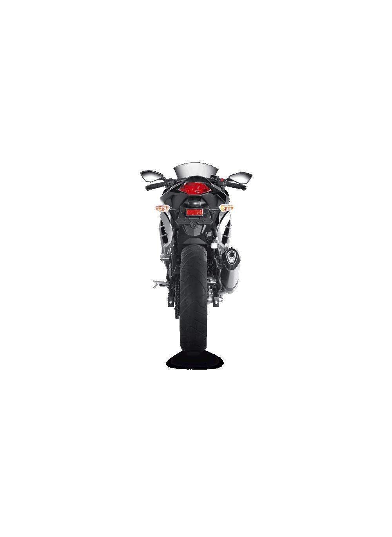 Akrapovic Slip-On Exhaust Titanium Kawasaki Ninja 300 - G&G Shop