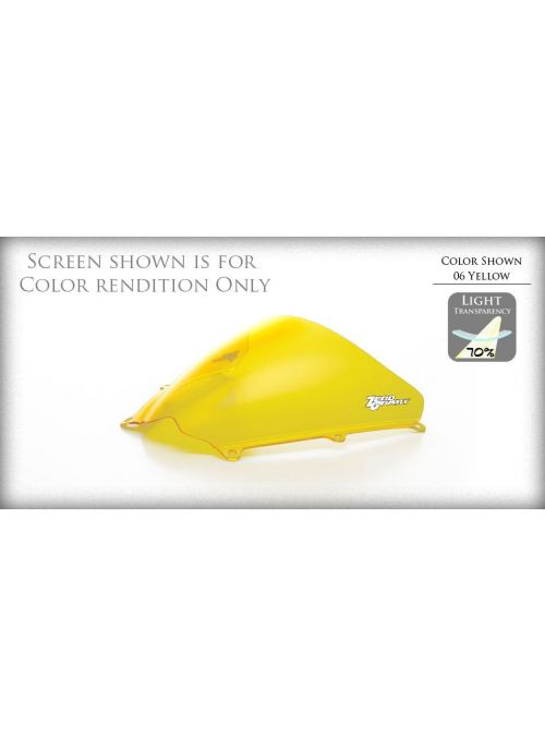 ZeroGravity Windscreen Double Bubble Yellow Suzuki GSX-R 750 1991-1992