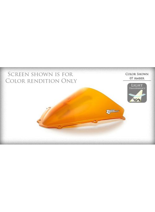 ZeroGravity Windscreen Double Bubble Orange Suzuki GSX-R 750 1991-1992