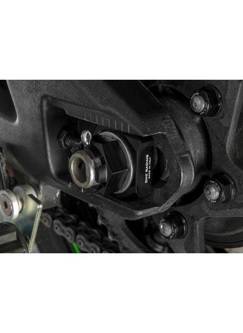 CNC Racing chain adjuster block set Kawasaki