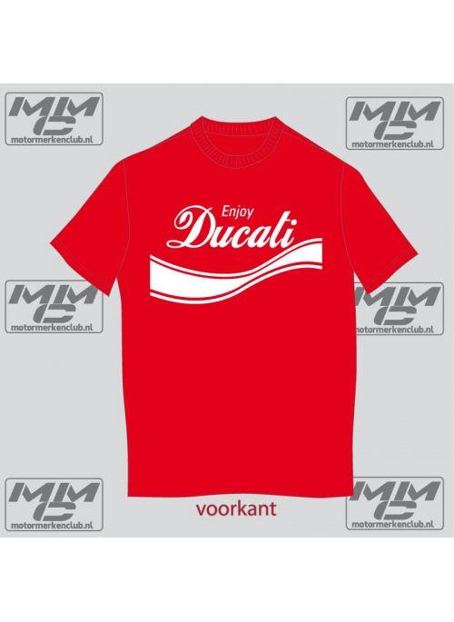 T-Shirt Enjoy Ducati XS-S-M-L-XL-XXL-XXXL