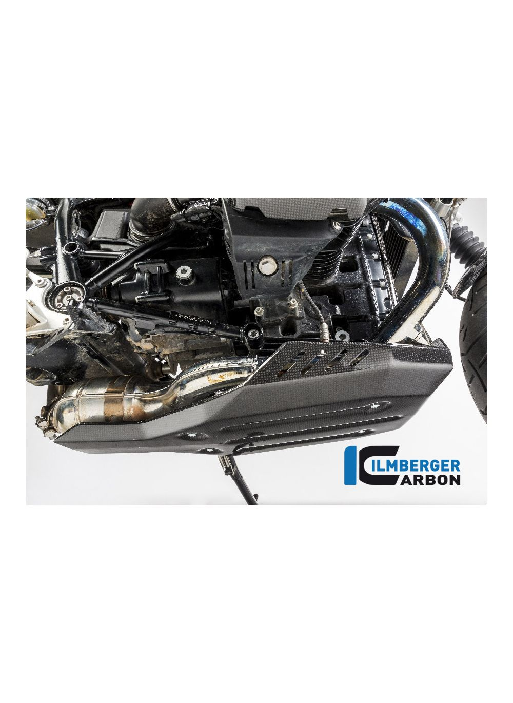 Bellypan (engine guard) BMW R NineT R9T - Pure - Racer