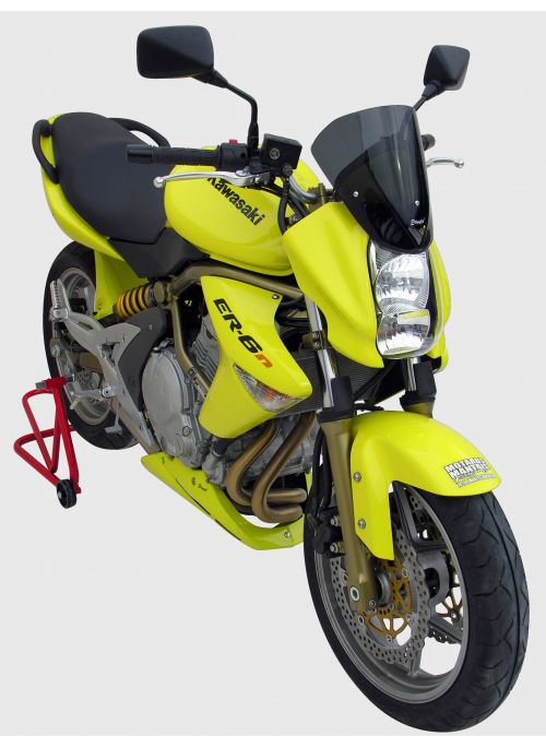Ermax Double Bubble flyscreen windshield 26cm ER6n 2006-2008 (incl. installation kit)