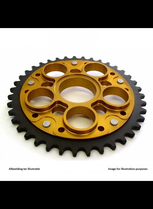 Kettingwiel SuperSprox Stealth RST-755_525 (goud) voor 525 ketting - 39 tanden