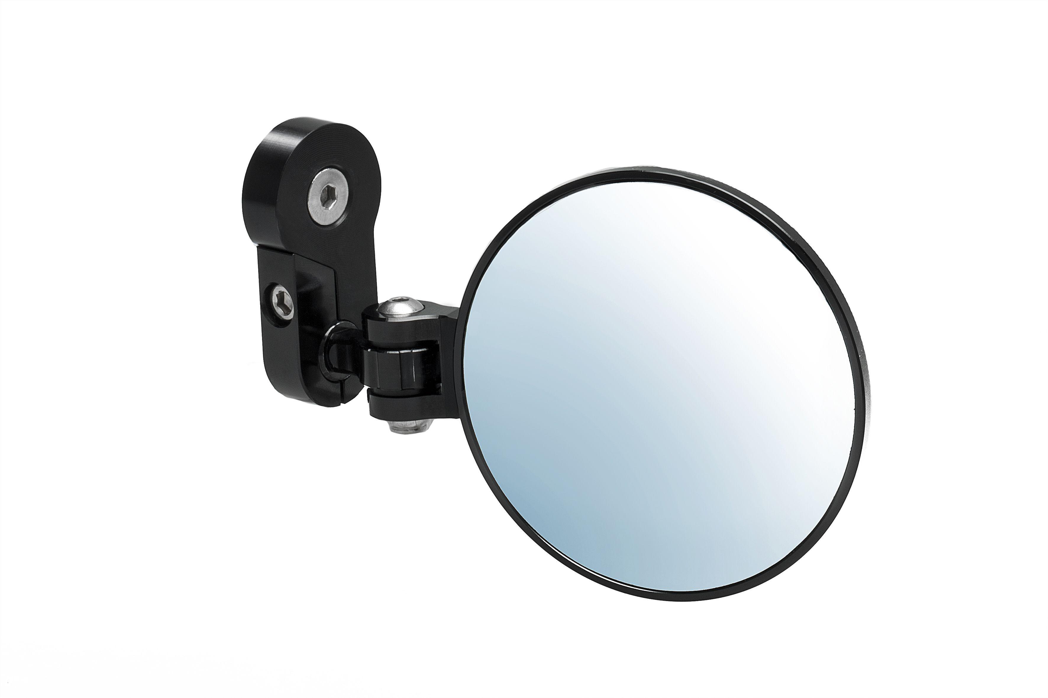 Bar End Spiegels : Set bar end spiegels nieuw aluminiumkleur of zwart