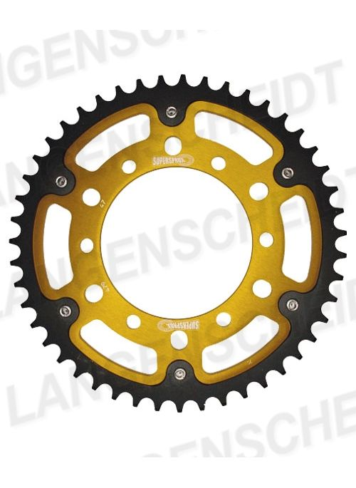 Rear sprocket SuperSprox Stealth RST-479 (gold) for 530 chain - 45 teeth
