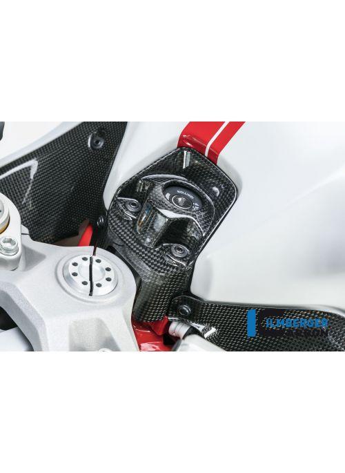 Contactslot cover glanzend carbon Supersport 939