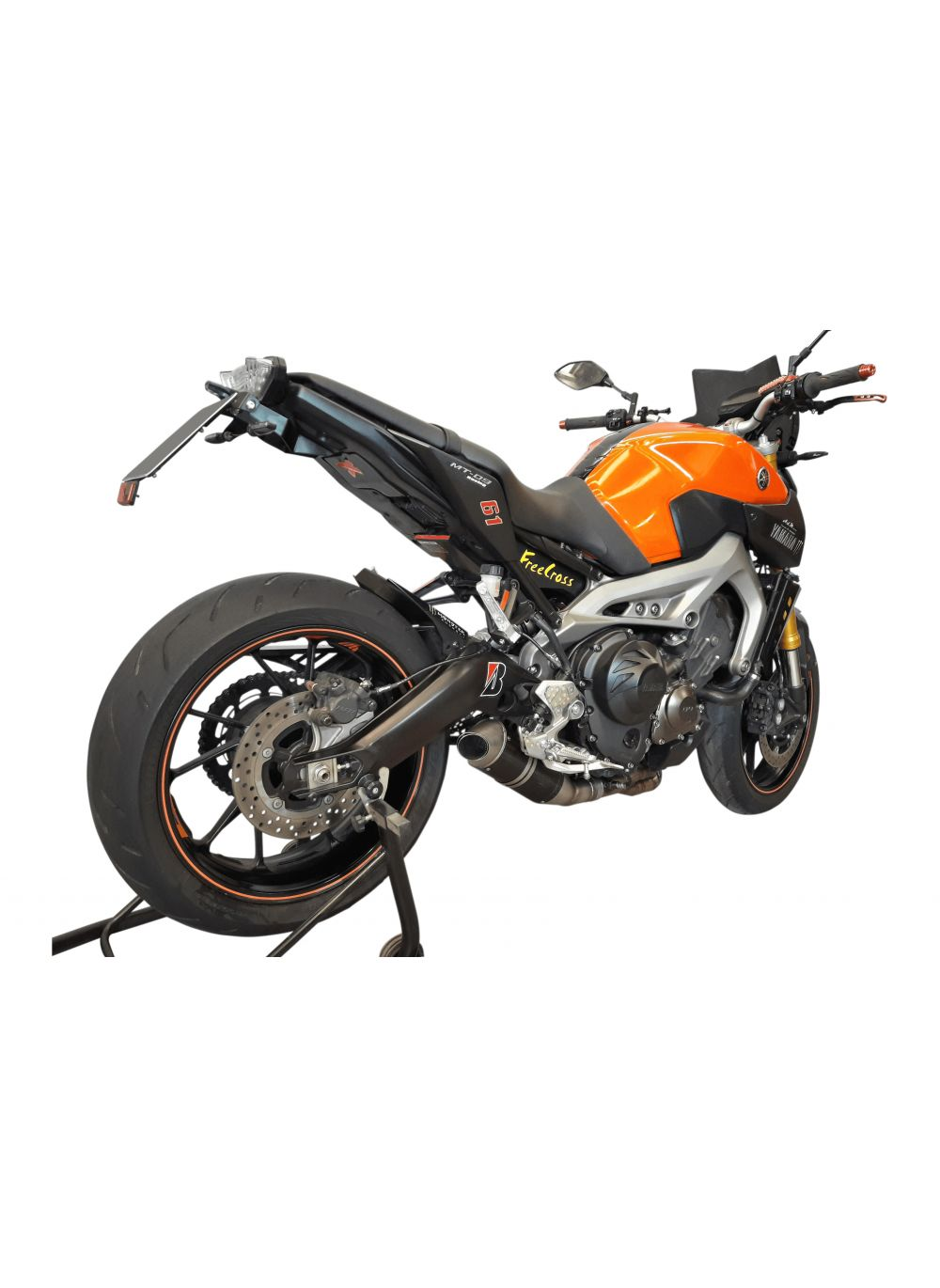 G g big oval exhaust system yamaha mt09 and tracer g g shop for Yamaha exhaust systems