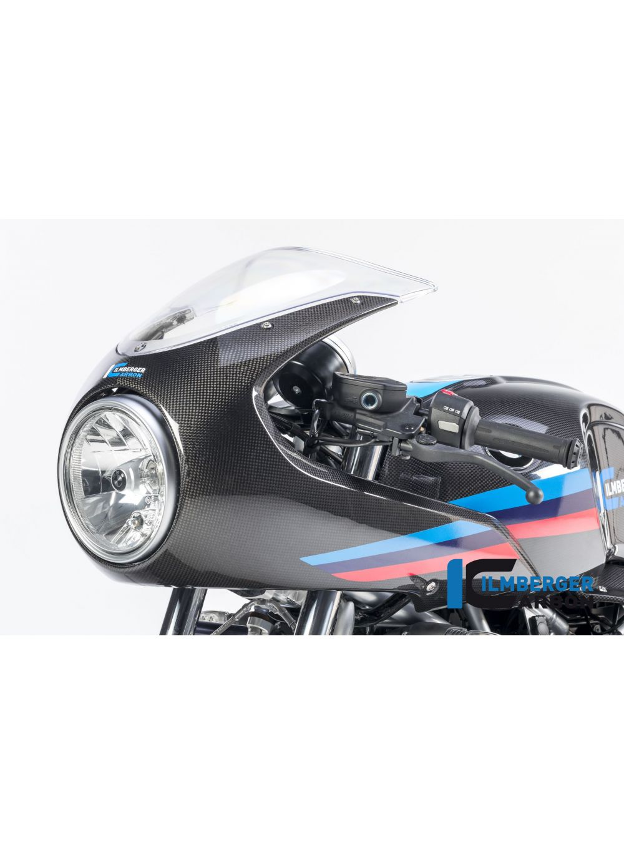 2015-2018 Diavel Upper Front Nose Windshield Screen Fairing Cowling Carbon Fiber