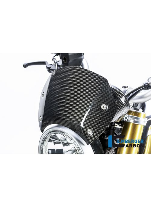 Windshield (flyscreen) glossy carbon - BMW R NineT R9T