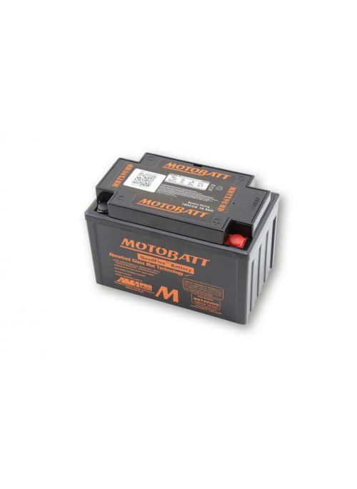 Black Motobatt Battery MBTX9UHD (MBTX9U) 10,5Ah