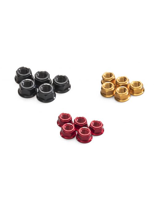 Rear sprocket nut set