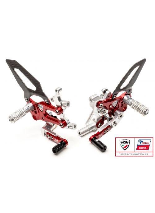 Pramac Racing SBK rearset Ducati Panigale