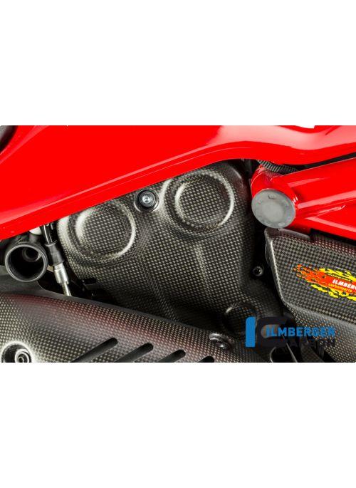 Verticale Timing Belt Cover Mat Carbon - Ducati Monster 821