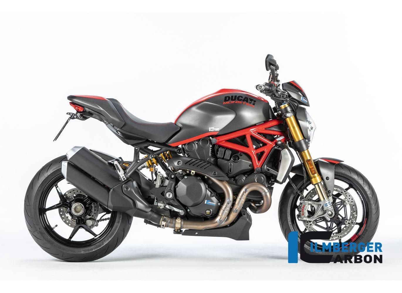 Cover Under The Frame Right Side Matt Carbon Ducati Monster 1200 2017
