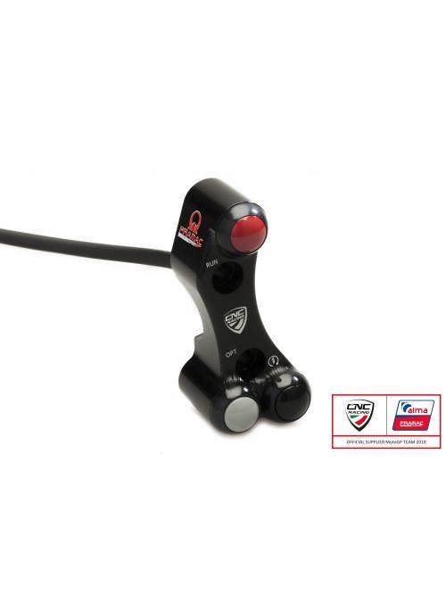 Right handlebar switch Pramac - OEM and RCS Brembo brake master cylinder