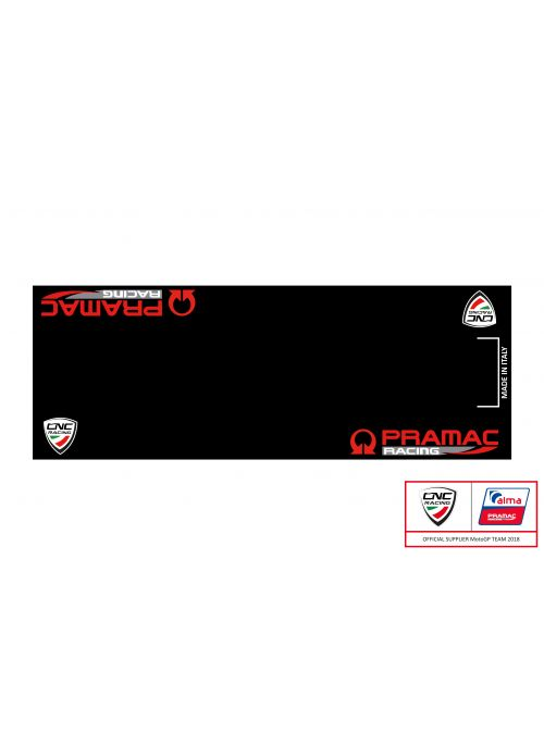 Pit Stop Garage Mat Pramac Limited Edition CNC Racing