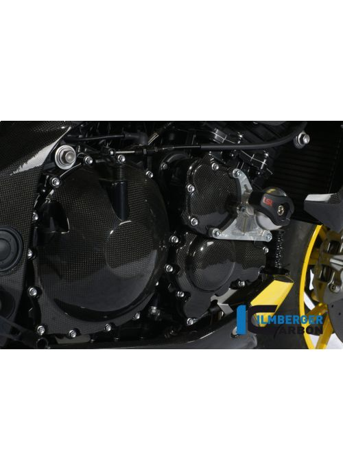 Clutch housing cover carbon