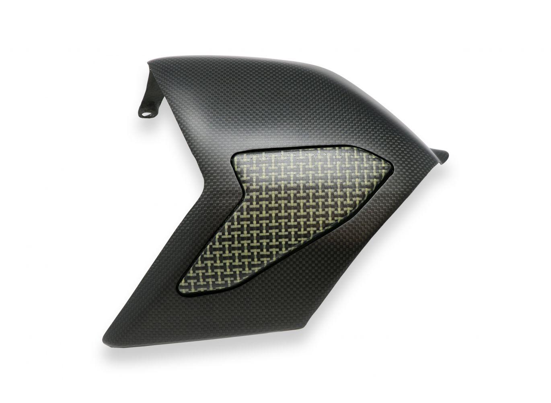 Matt carbon / kevlar swingarm cover Panigale V4 V4S - G&G Shop