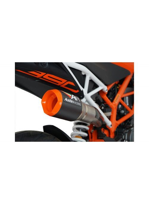 KTM Duke 390 GP1 High Slung DeCat exhaust