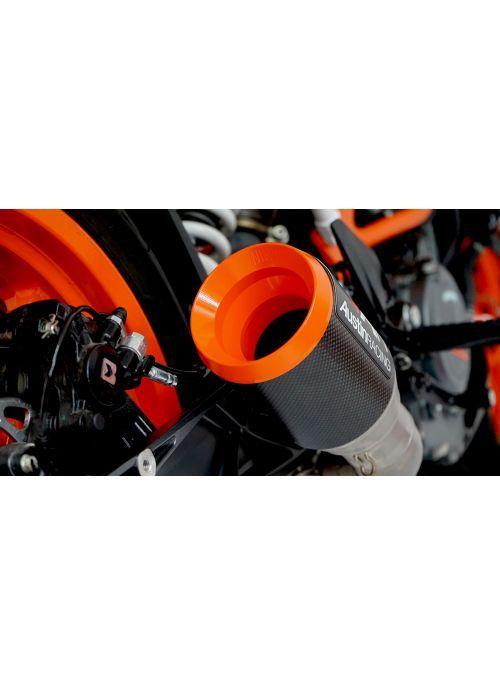 Austin Racing slip-on uitlaat KTM RC390 en Duke 390 2013-2018