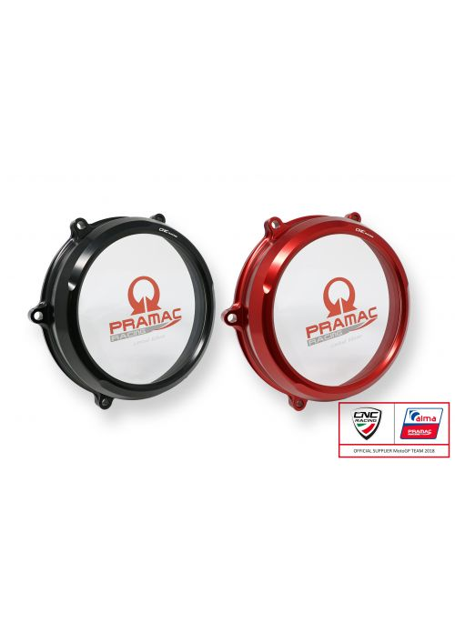 Clear clutch case cover Ducati Panigale Pramac Racing Limited Edition