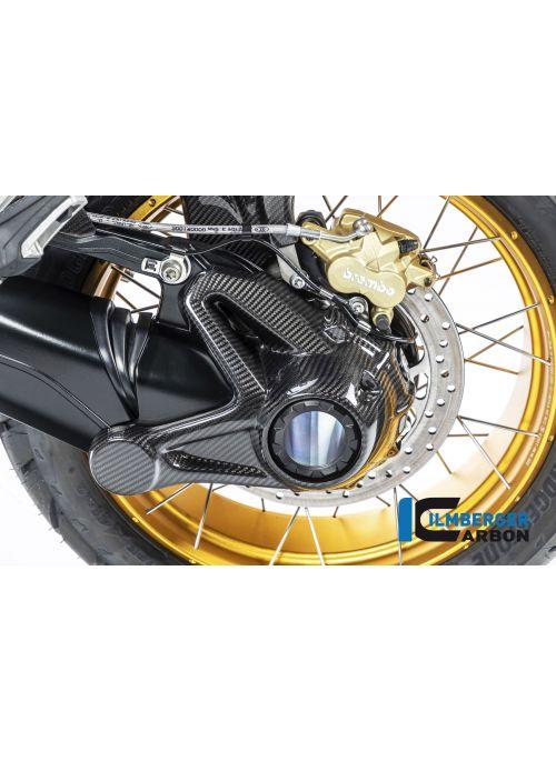Cardan behuizing beschermer (voor gebruik zonder achterwiel spatscherm) Carbon BMW R1250GS 2019+