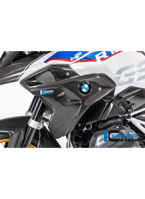 Luchtinlaat paneel links incl. cover (2-delig) Carbon BMW R1250GS 2019+