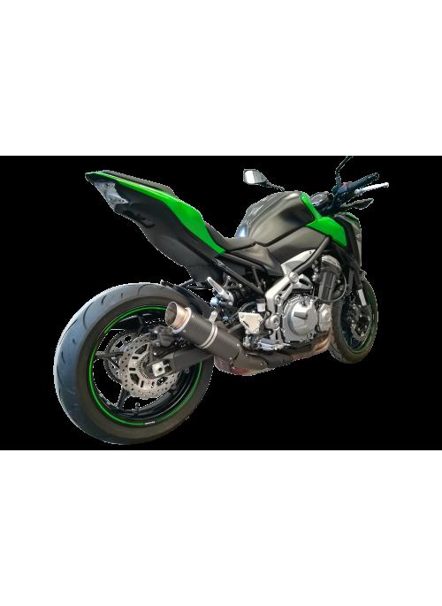 G&G Moto2 slip-on exhaust Kawasaki Z900 2017+