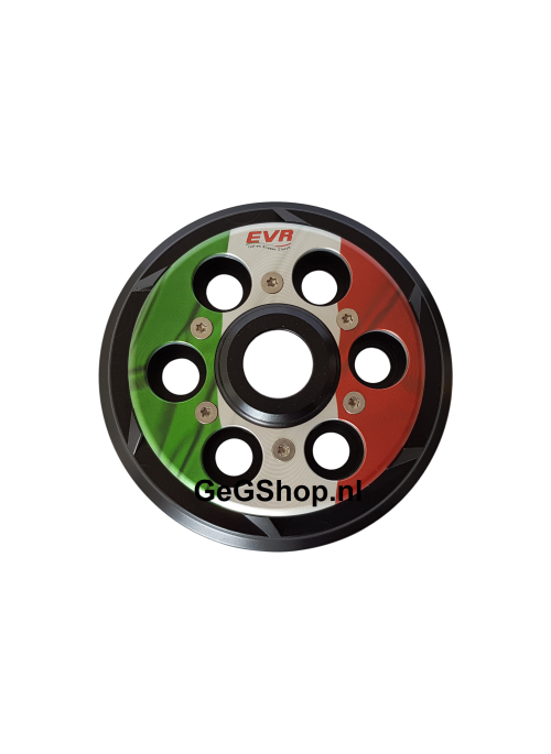 EVR vented pressure plate for clutch - Italian Flag