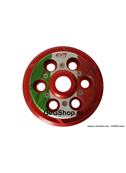 EVR Anti-clank pressure plate for clutch - Italian Flag