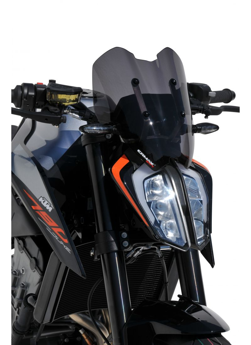 Harley Davidson Prices >> Ermax Sport flyscreen windshield 790 Duke 2018+ (incl ...
