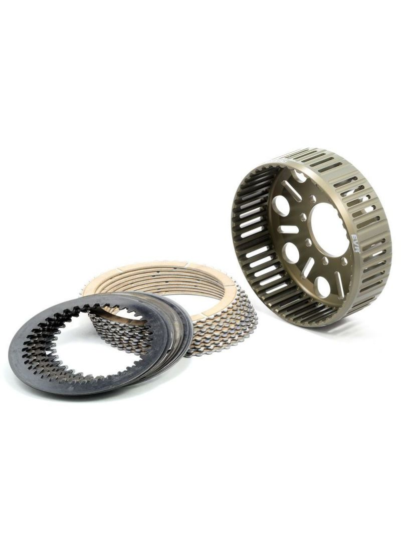EVR CDU-220 48-teeth clutch set - basket, sintered plates and steel plates