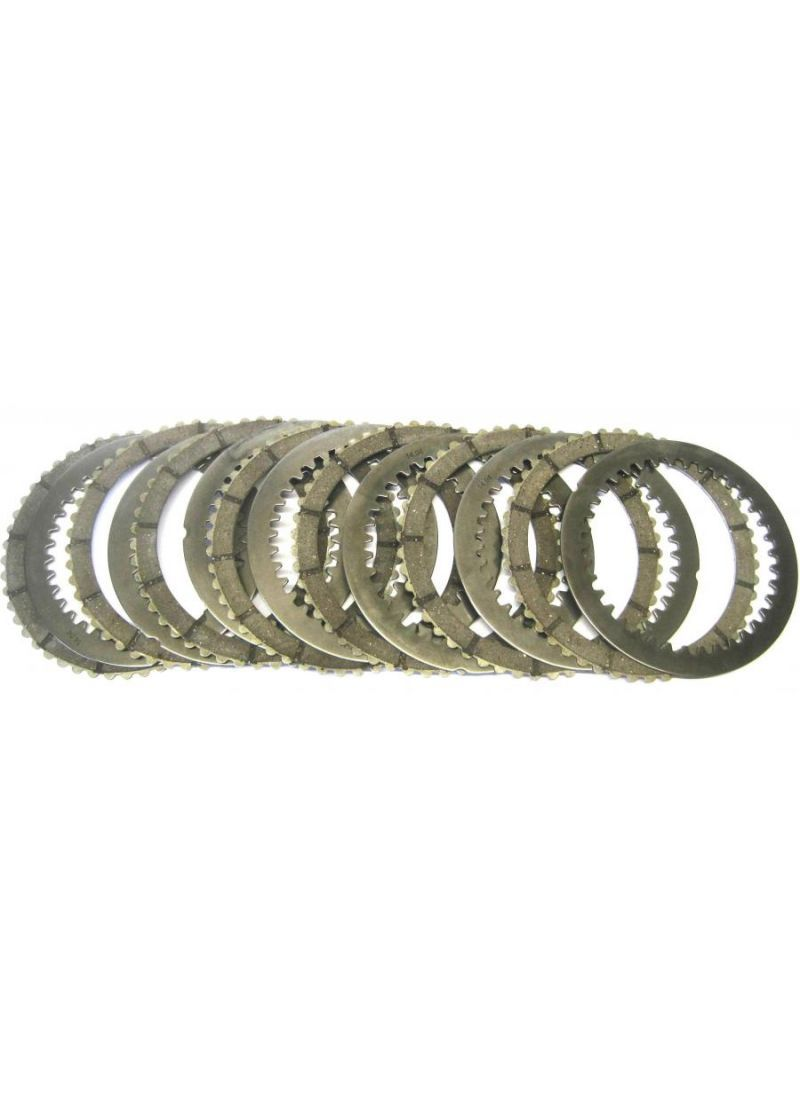 EVR 48-teeth clutch plate set padded steel - for Ducati models with slipper clutch (thickness 36,5mm)