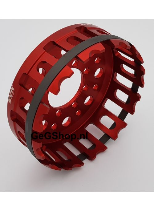 Clutch Basket Red 12-tooth for all Ducati dry clutch models