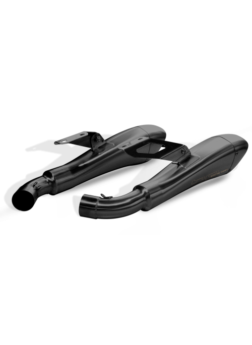 HP Corse Slip-On Exhaust Monster 696 2008-2014 Hydroform Black