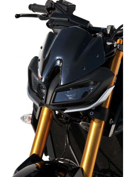 Ermax Hypersport wind screen 22cm Yamaha MT-09 2017+
