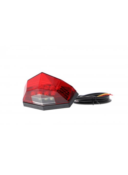 Tail light DRC with red cover - Evotech Performance