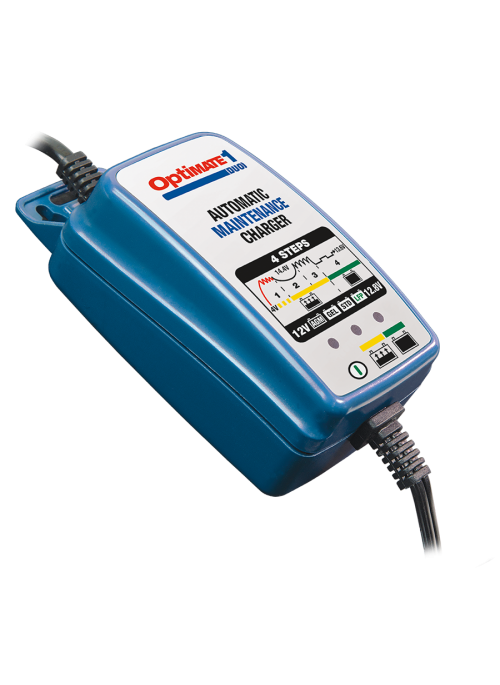 OptiMATE 1 DUO Battery Charger-Maintainer 4-step 12V/12.8V 0.6A