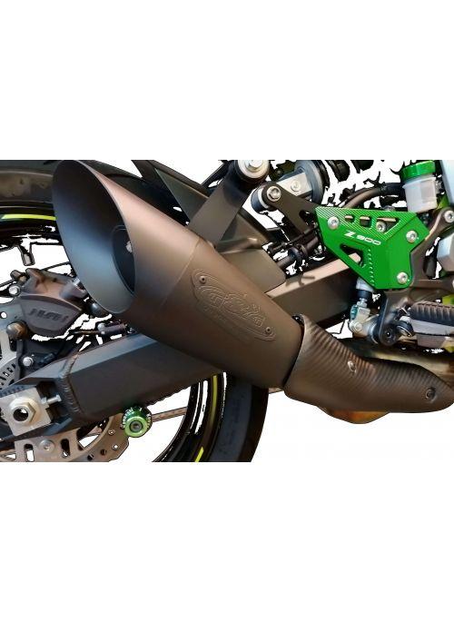 G&G GP Megaphone slip-on exhaust Kawasaki Z900 2017+