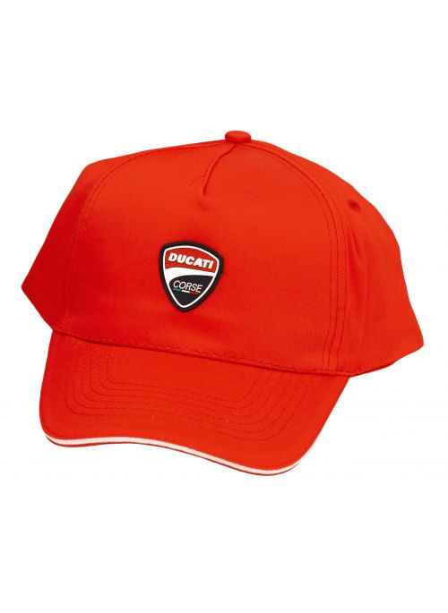 Ducati Corse baseball cap red