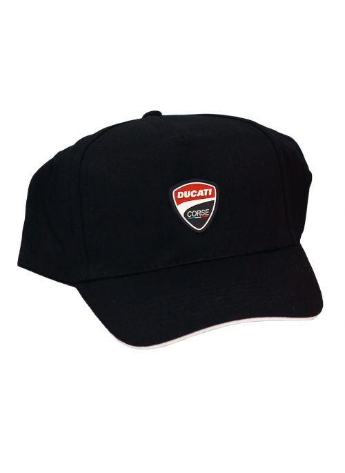 Ducati Corse baseball cap pet zwart
