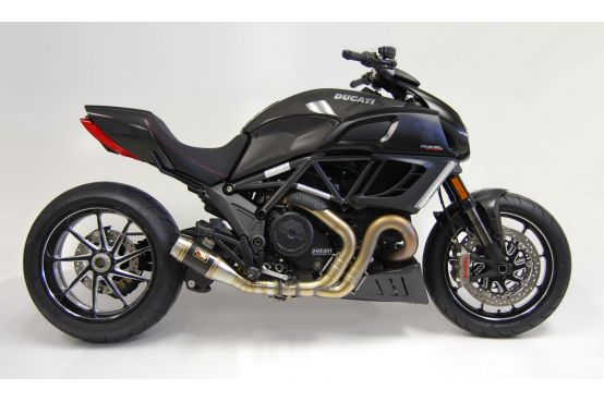 Competition Werkes exhaust Ducati Diavel