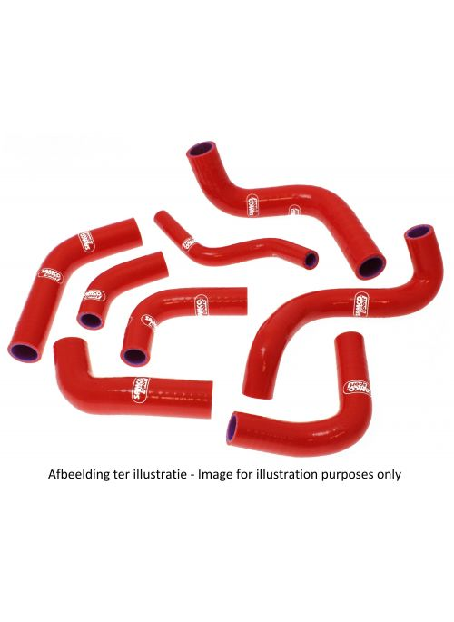 Samco Radiator Hose Kit Ducati 748R 2000-2002 red