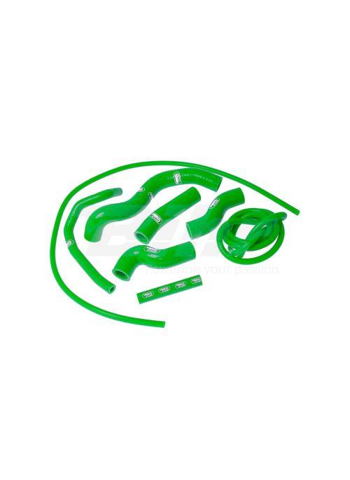 Samco radiatorslangen set groen Kawasaki Z1000 2007-2009 Z750 2007-2013