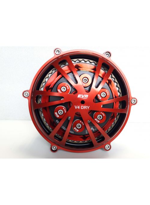 EVR Complete dry conversion kit slipper clutch with sintered discs for Panigale V4