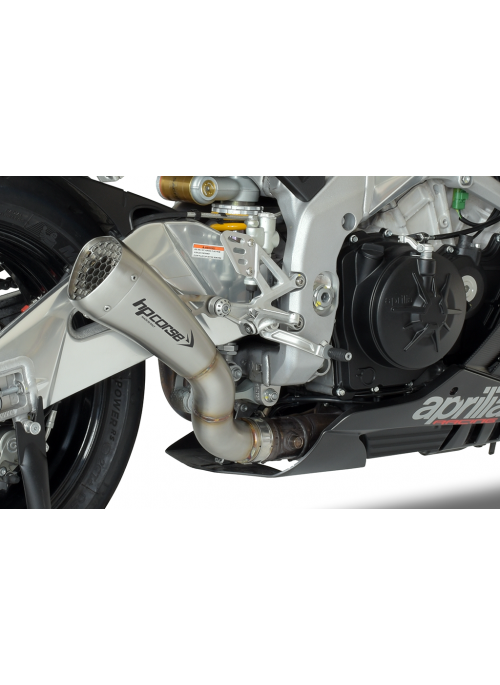 HP Corse Slip-On Exhaust RSV4 2015-2016 Hydroform Corsa Short Satin