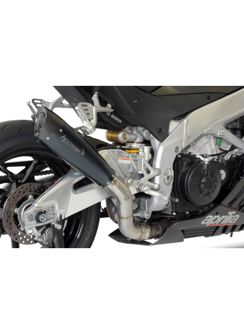 HP Corse Slip-On Exhaust RSV4 2015-2016 EvoXtreme 310mm Black